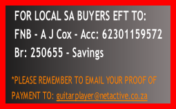 FOR LOCAL SA BUYERS EFT TO: